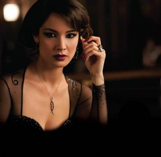Berenice Marlohe. A Bond Girl de Skyfall