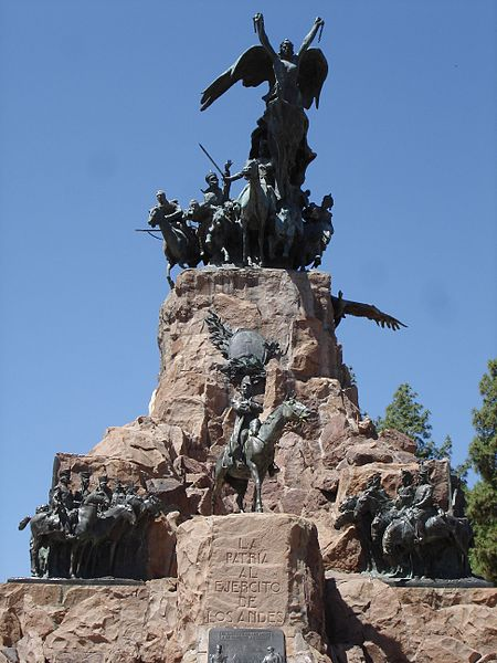 Monumento ao Exercito dos Andes no Cerro de la Gloria