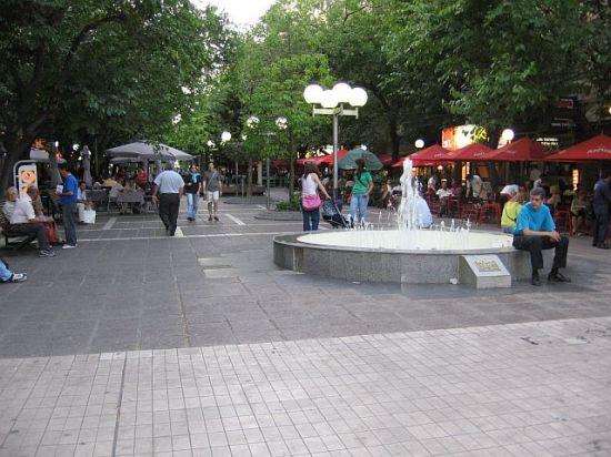A famosa Peatonal Sarmiento
