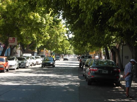 A pequena cidade de Tupungato