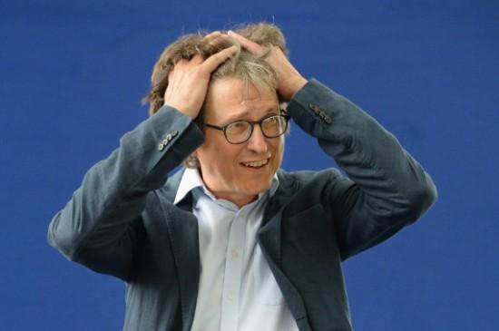 Guardian Editor Alan Rusbridger At The Edinburgh International Book Festival